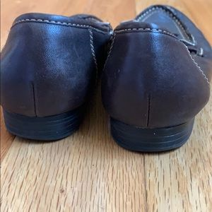 Mootsies Tootsies Shoes - Brown Leather Loafers